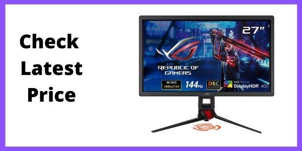 "ASUS ROG Strix XG27UQ 27"" HDR DSC Gaming Monitor, 4K"