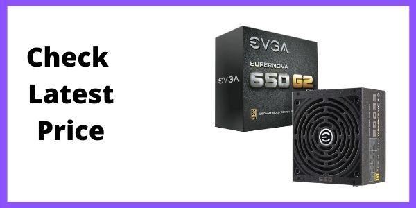 EVGA SuperNOVA 650W Fully Modular Power Supply
