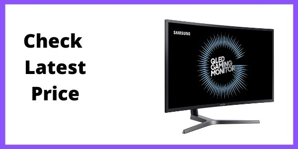 Samsung C27HG70QQN C27HG70 27 HDR QLED 144Hz 1ms Curved Gaming Monitor