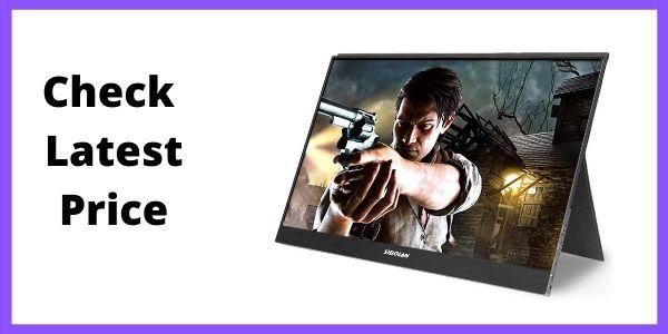Sibolan S20 15.6inch Full HD Ultra Slim Frameless Bezel Gaming Portable Monitor