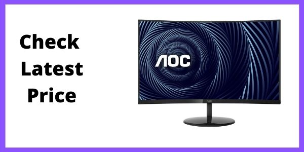 AOC CU32V3 32 Super-Curved 4K UHD monitor