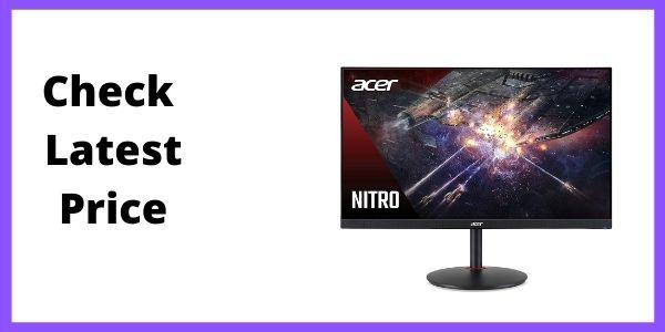 Acer Nitro XV272U Pbmiiprzx 27 WQHD (2560 x 1440) IPS G-SYNC Compatible Monitor