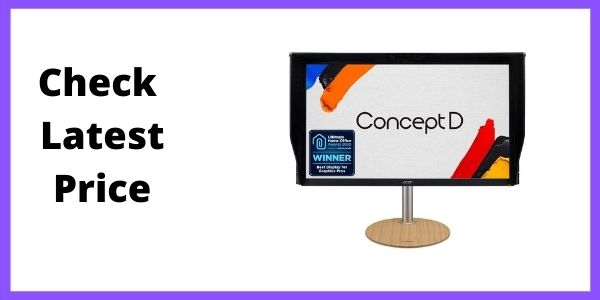 ConceptD CP7 CP7271K Pbmiphzx 27 UHD 4K (3840 x 2160) IPS G-SYNC Ultimate Monitor