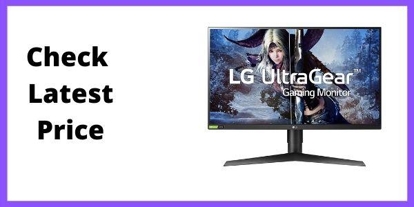 LG 27GL83A-B NVIDIA G-SYNC Compatible Gaming Monitor