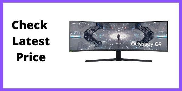 SAMSUNG LC49G95TSSNXZA 49-inch Odyssey G9 Gaming Monitor