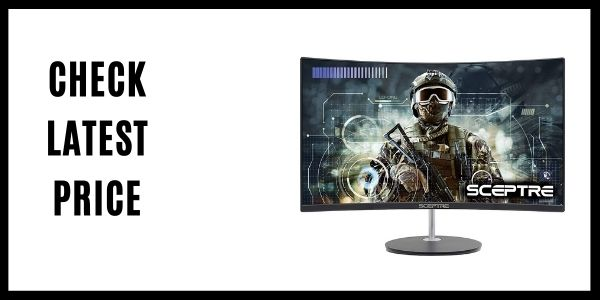 Sceptre 24 Curved 75Hz Gaming LED Monitor Full HD (C248W-1920RN)
