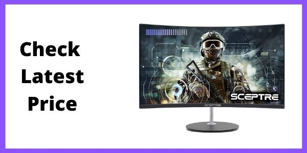Sceptre (C275W-1920RN) Curved 27 75Hz LED Monitor